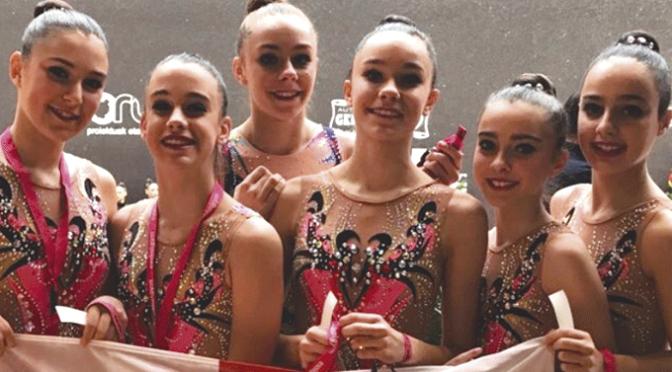Campeonato de España base de gimnasia ritmica