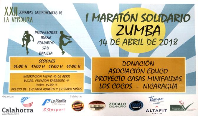 I Maratón de zumba solidario