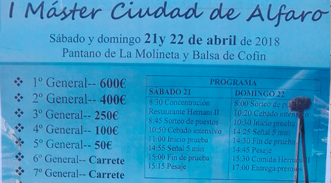 I Máster Ciudad de Alfaro