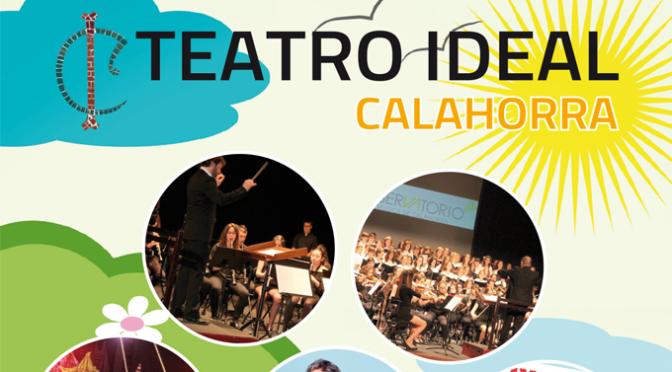 Programación teatro Ideal mayo y junio