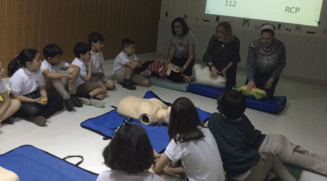 Reanimación cardiopulmonar en el en el Colegio Santa Teresa