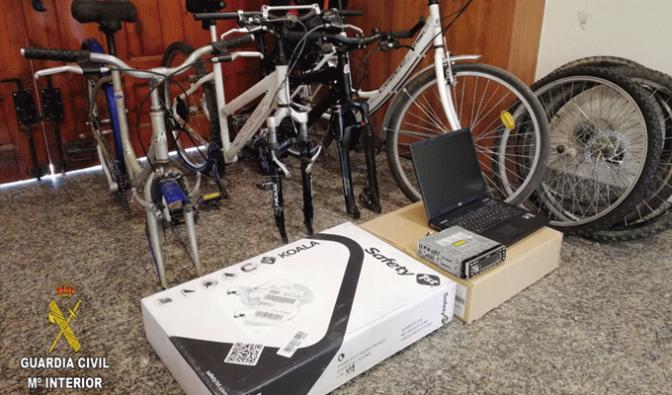 Detención de tres personas por 8 robos en Rincón de Soto y 2 en Aldeanueva de Ebro