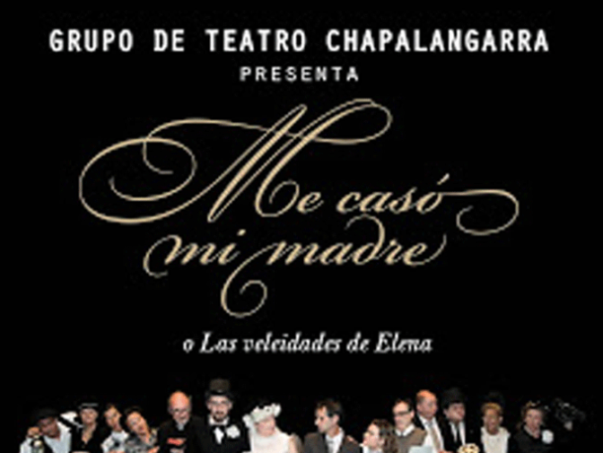 Este domingo teatro en San Adrián