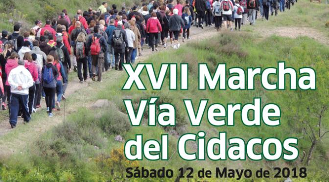 XVII Marcha Via Verde del Cidacos entre Arnedillo y Calahorra, hoy finaliza el plazo de inscripción