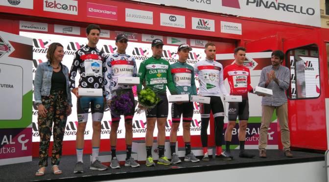 Azagra hoy final de etapa de la 57 Vuelta a Navarra