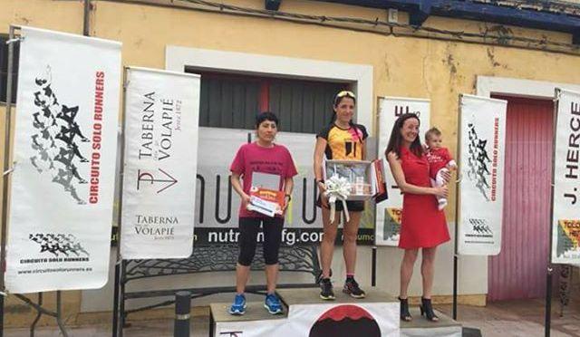 Delia Ramos vencedora absoluta de la carrera de la Ciruela de Quel