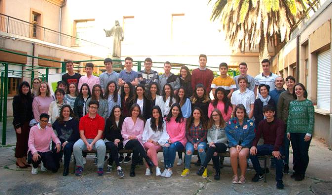 Despedida de los alumnos de 2º de Bachillerato de Tersianas