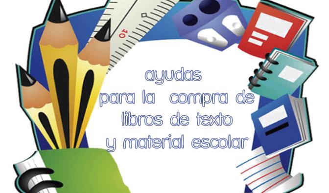 Ayudas para la compra de libros de texto y material escolar del curso 2018-2019