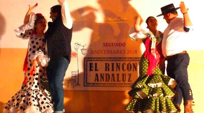 """El bar """"el Rincon Andaluz"""" celebro su segundo aniversario con mucho arte"""