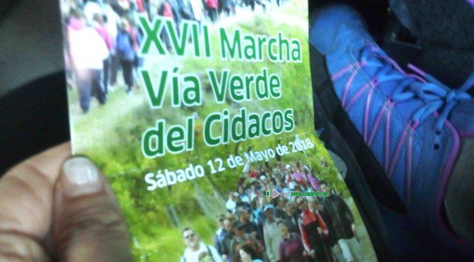 Unas 800 el sábado recorrieron la Via Verde el sábado