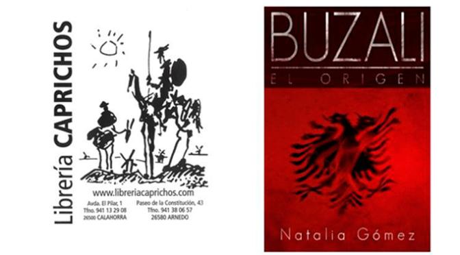 Natalia Gómez presenta su segunda novela: Buzali. El origen