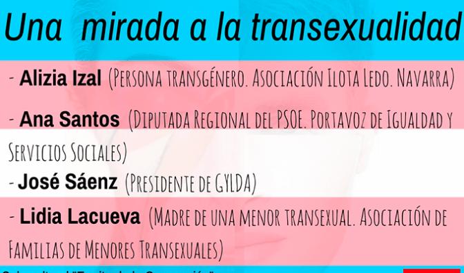 Una mirada a la transexualidad, charla organizada con motivo del Día internacional contra la homofobia y la transfobia