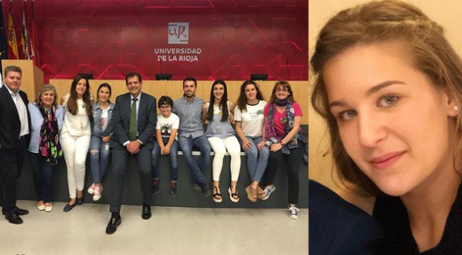 Lucía Heras Álvarez en la III Conferencia Internacional de Jóvenes 'Salvemos el planeta'