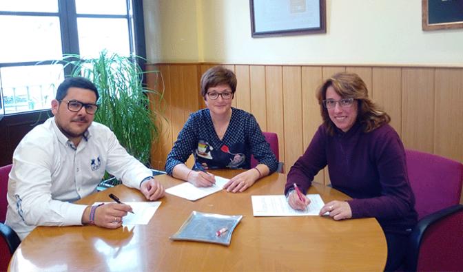 Firma del V Convenio de dinamización turístico-comercial para 2018 de Alfaro