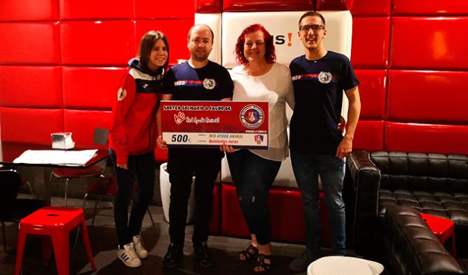 Crianza Rojilla recauda 500€ para Red Ayuda Animal