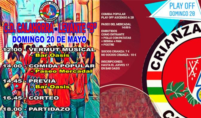 Programación para este domingo de Crianza Rojilla para animar al CD Calahorra