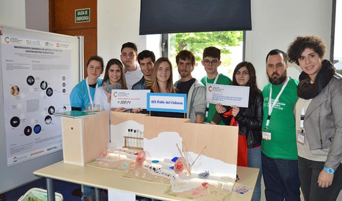 El IES Valle del Cidacos gana dos premios en el I concurso de cristalizacion en la escuela de La Rioja