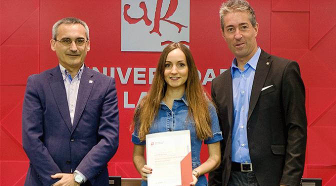 Elisa Rubio Ruiz, Premio al Mejor Expediente del Máster Universitario en Profesorado
