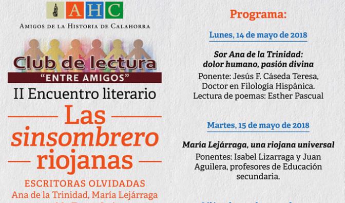"""II Encuentro Literario del Club de Lectura """"Entre Amigos"""""""