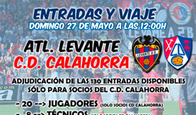 Sorteo de entradas para el próximo enfrentamiento del CD Calahorra