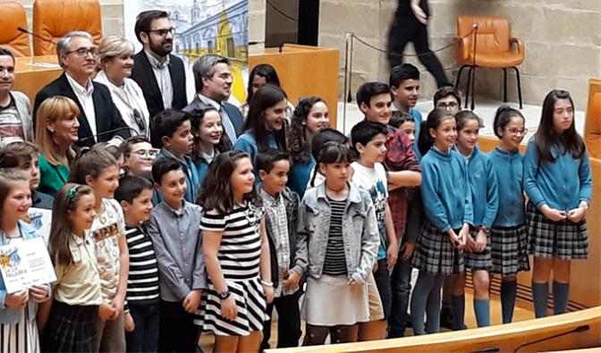 La Milagrosa Calahorra participa en los actos del Día de Europa