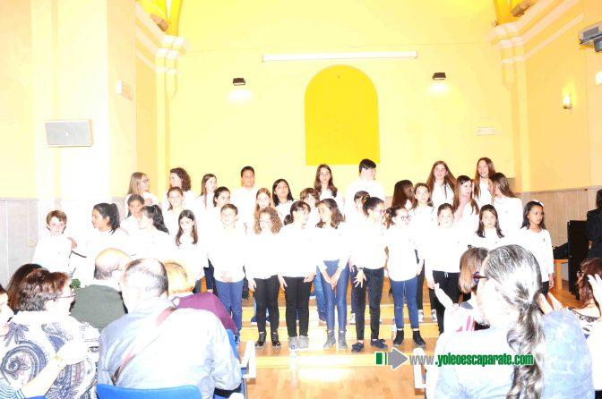 Actuación de los coros juveniles de Calahorra y Azagra