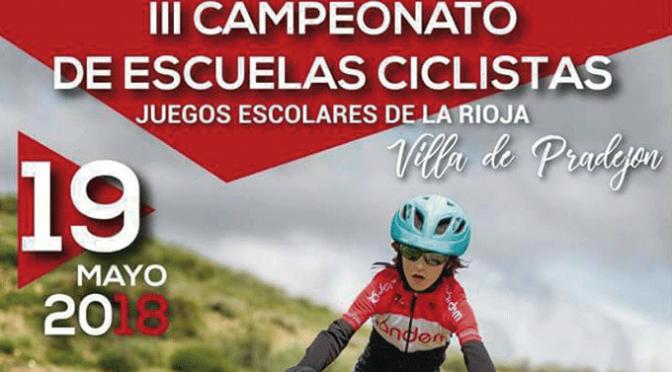 III Campeonato de las Escuelas Ciclistas de los Juegos Deportivos de La Rioja