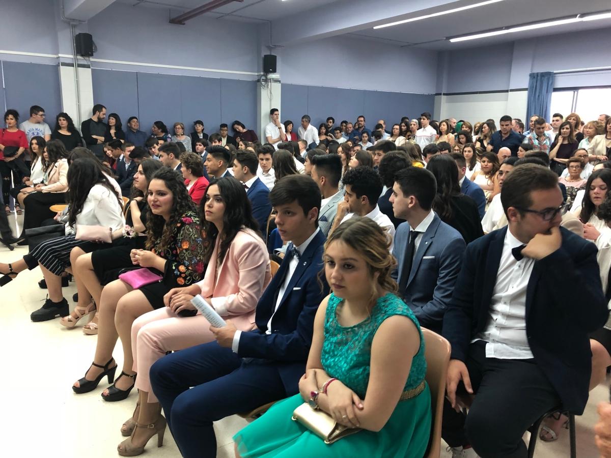 Graduación de Los alumnos del Instituto Ega de SAN ADRIAN