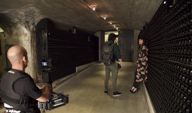 Malú finaliza el rodaje de su nuevo videoclip en La Rioja