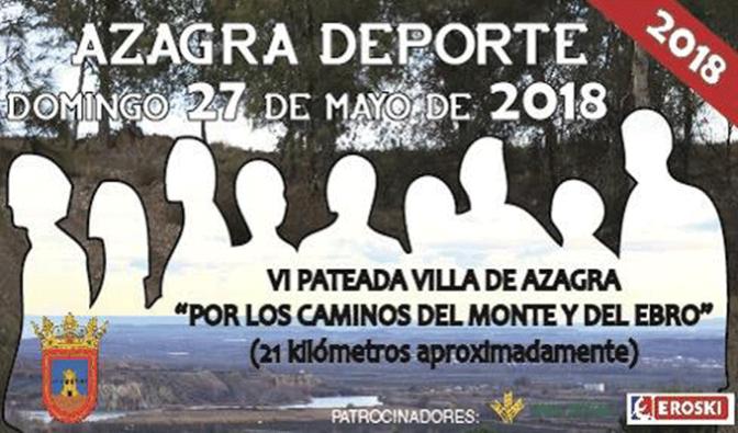 VI Pateada Villa de Azagra, este domingo