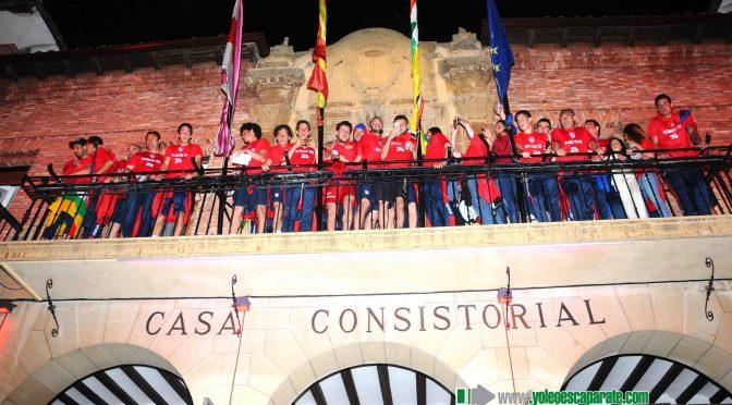 Galeria: Recepción del CD Calahorra en el Ayuntamiento