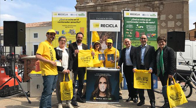 La campaña de sensibilización 'Recicla y Respira' recorrerá 34 municipios riojanos hasta el 21 de julio