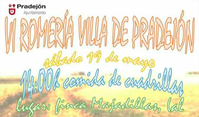VI ROMERÍA Villa de Pradejón para el sábado y marcha chiqui el domingo