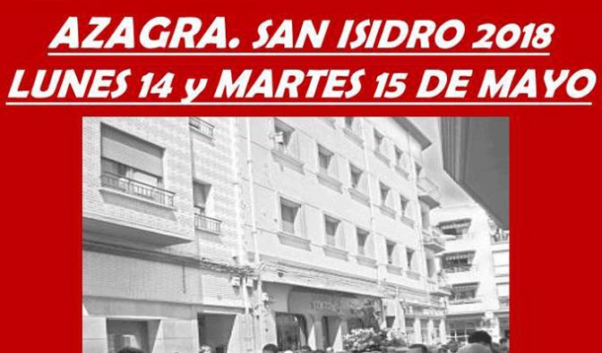 Celebración de San Isidro en Azagra