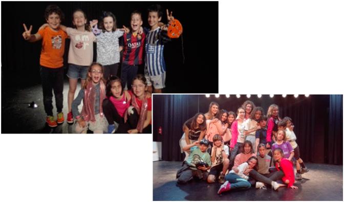 Estreno de las obras del taller de teatro infantil y juvenil