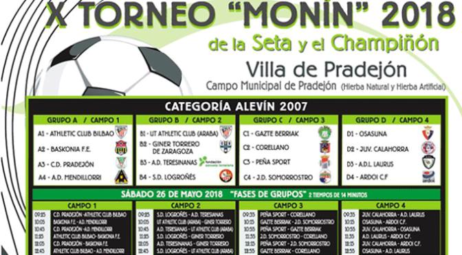 "X Torneo ""Monín"" de la Seta y el champiñon en Pradejón"