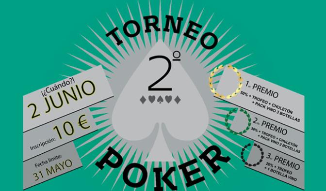 2º Torneo de poker