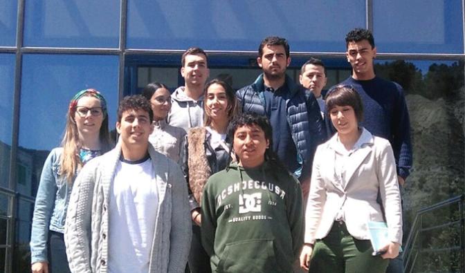 Los alumnos del Centro de FP La Planilla visitan la empresa Ultracongelados Virto