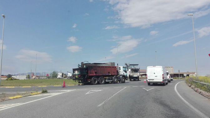 Comienzan las obras en la LR-134 entre Calahorra y San Adrián