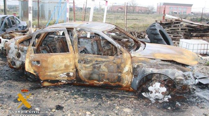 La Guardia Civil detiene al autor del incendio en el depósito municipal de Rincón de Soto