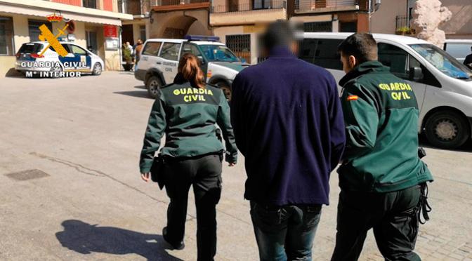 La Guardia Civil desmantela un grupo de delincuentes que actuaba en La Rioja Baja