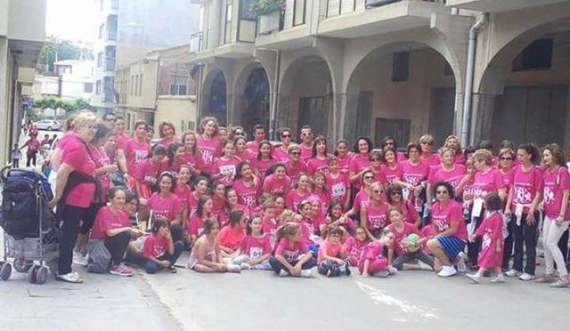 Fiesta naranja del Pasos Runners tanto en Pamplona como en Autol