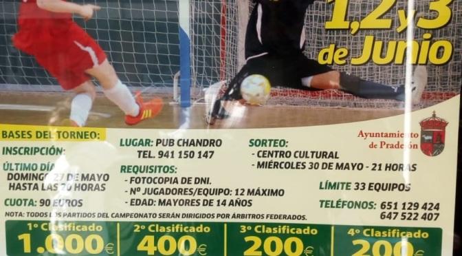 48 horas de futbol en Pradejón