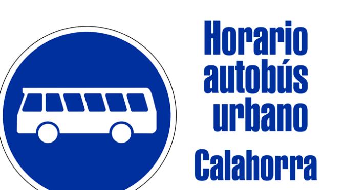 Variaciones del horario del autobús urbano por la temporada veraniega