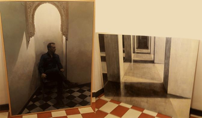 """Francisco Escalera González, ganador del XXII Certamen Nacional de Pintura """"Ciudad de Calahorra"""""""