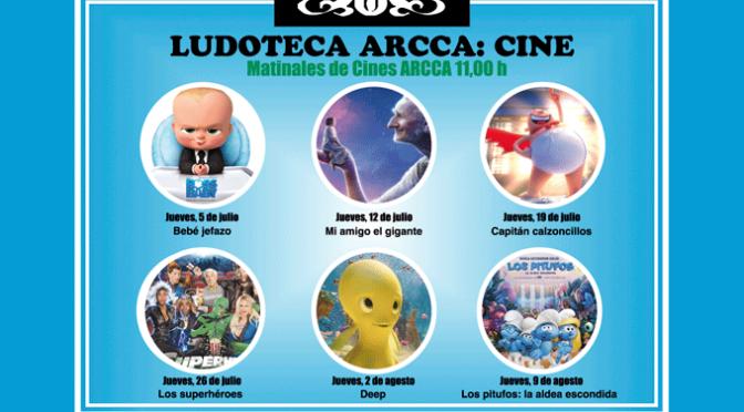 Ciclo de cine infantil para este verano