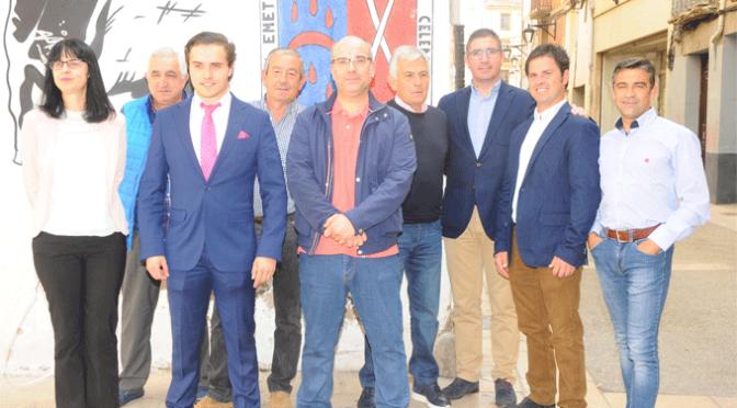La nueva junta del Club taurino de Calahorra llega con mucha ilusión