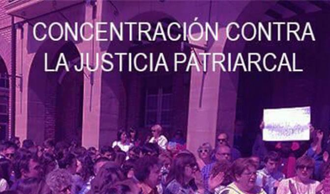 Esta tarde concentración contra la justicia patriarcal