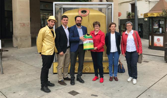 Alfaro gana el 'Contenedor de Oro' en el tercer mes de competición