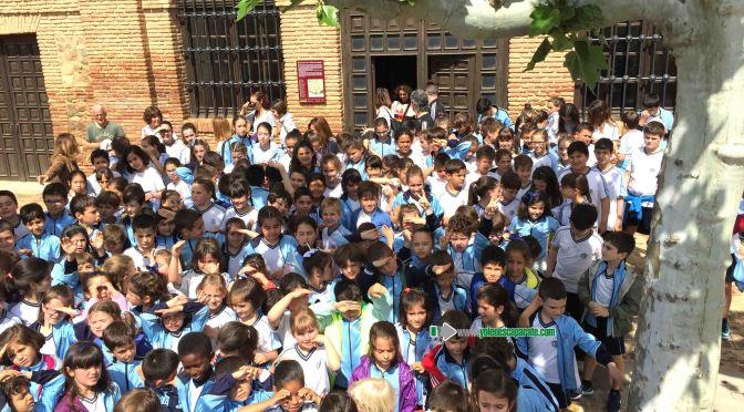 El Colegio La Milagrosa de Calahorra visita el Santuario del Carmen